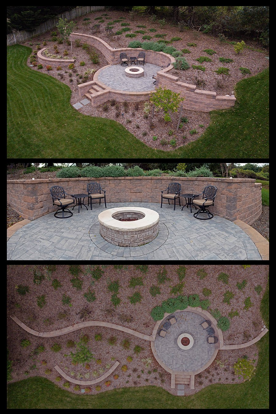 Hardscaping Patio and Fire Pit in Carroll County