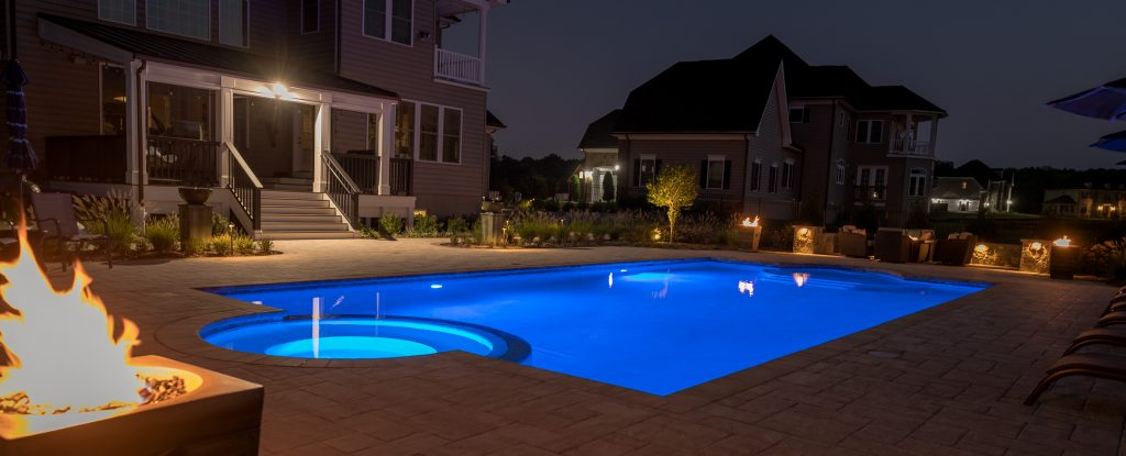 Howard County Swimming Pool Builder and Lighting Designer